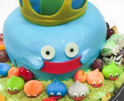 ドラゴンクエストキングスライム3Dケーキ