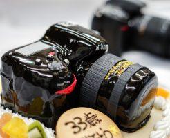 カメラのケーキ作り方
