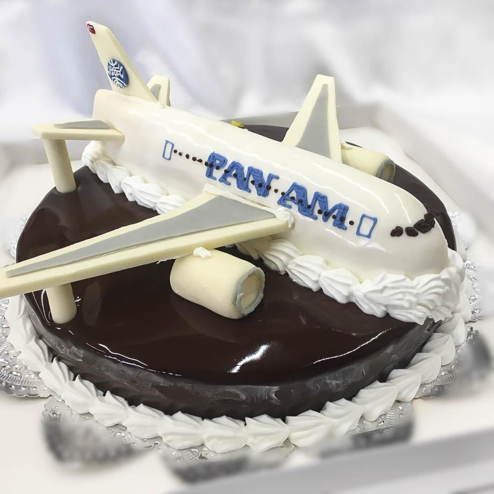 オーダーケーキ 飛行機