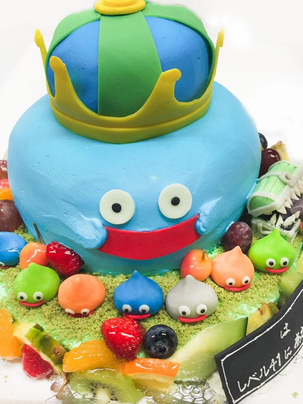 ドラゴンクエスト3D超立体ケーキ