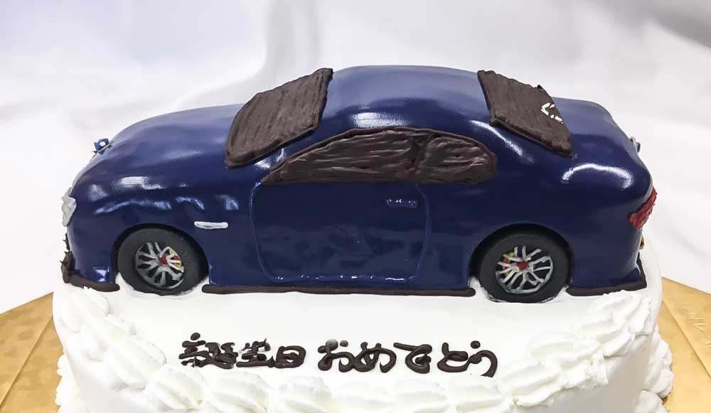 車のケーキ-2