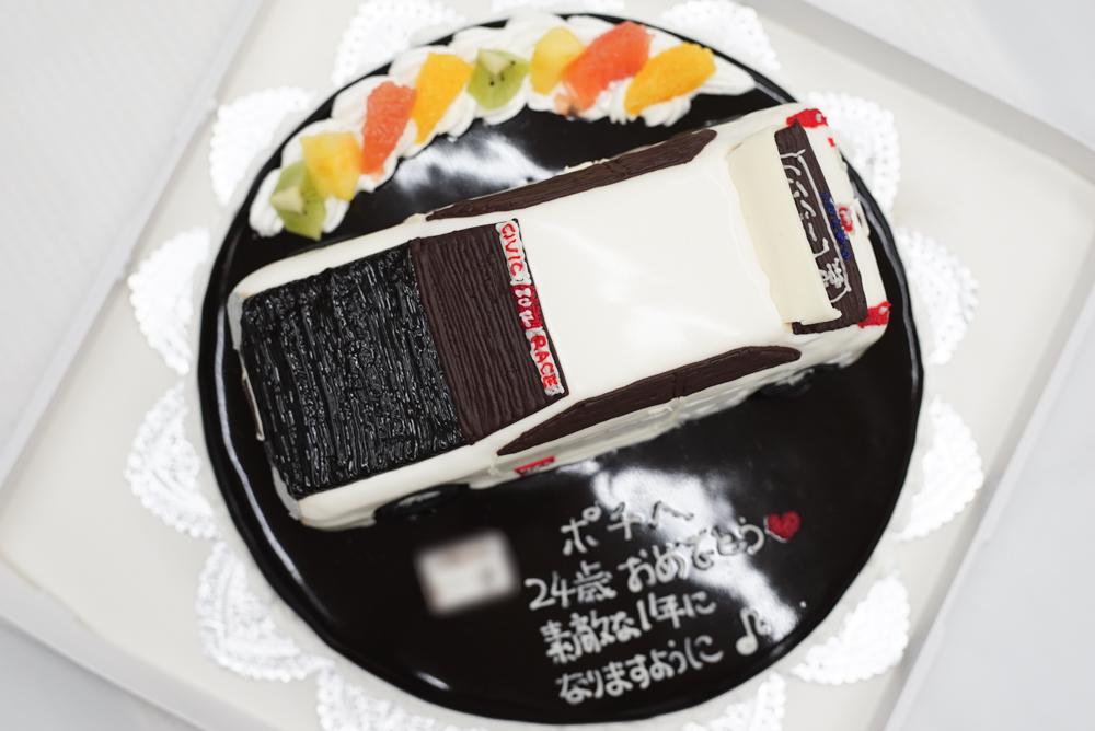 シビックタイプRケーキ20180319
