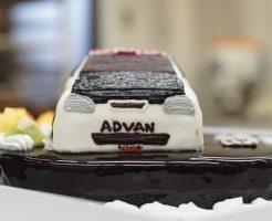 車の立体ケーキ シビックタイプR20180319