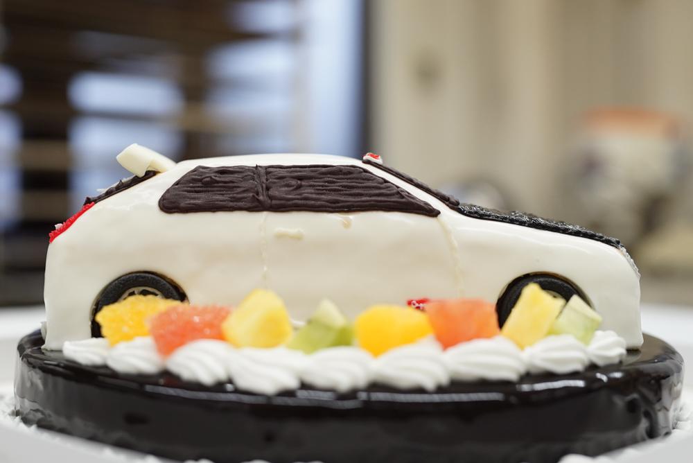 車ケーキ シビックタイプR20180319