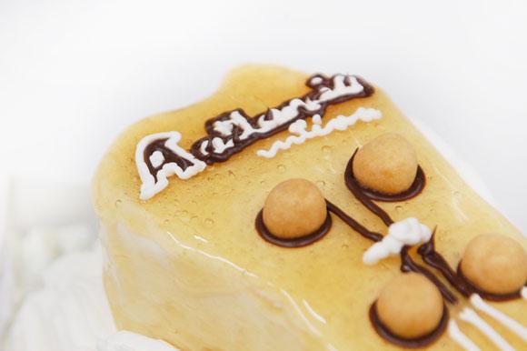 アトランシア ギターケーキ