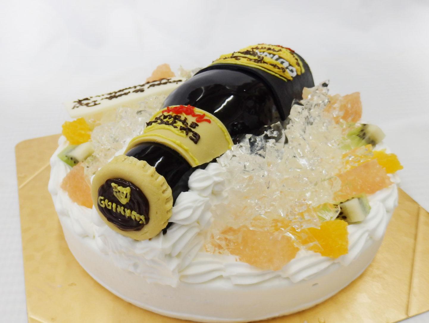 オーダーケーキ ビール