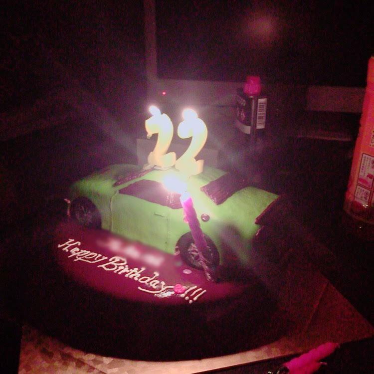 車のケーキ 誕生日ケーキ