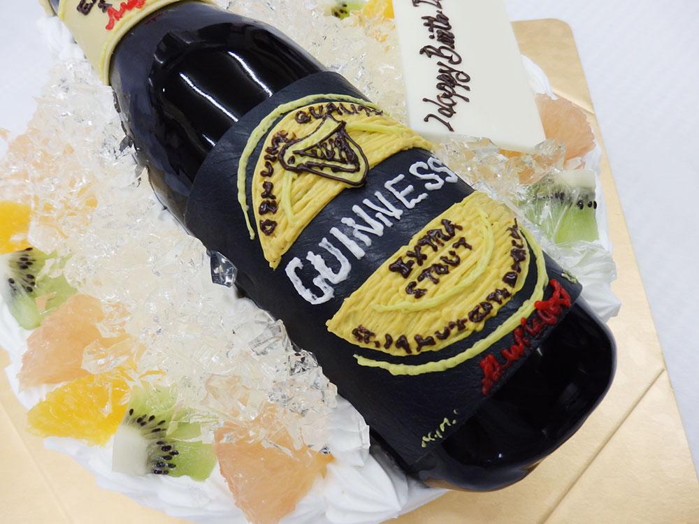 ビールのオーダーケーキ