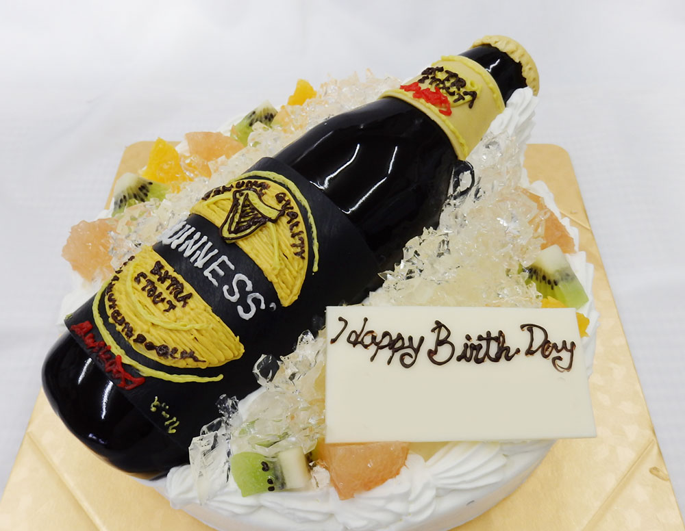 バースデーケーキ ギネスビール