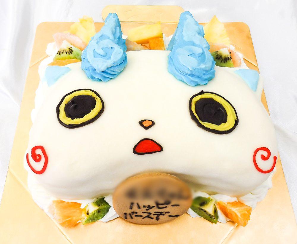 コマさん誕生日ケーキ