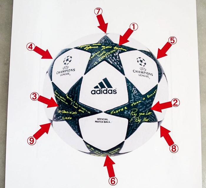 サッカーボールの3Dケーキ-1-15