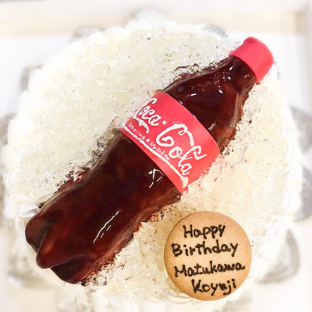 コカ・コーラ3D超立体ケーキ-1