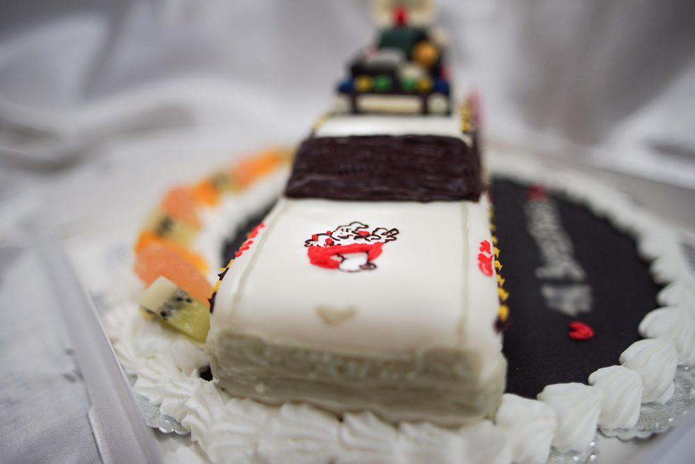 ストバスターズ 車の3Dケーキ