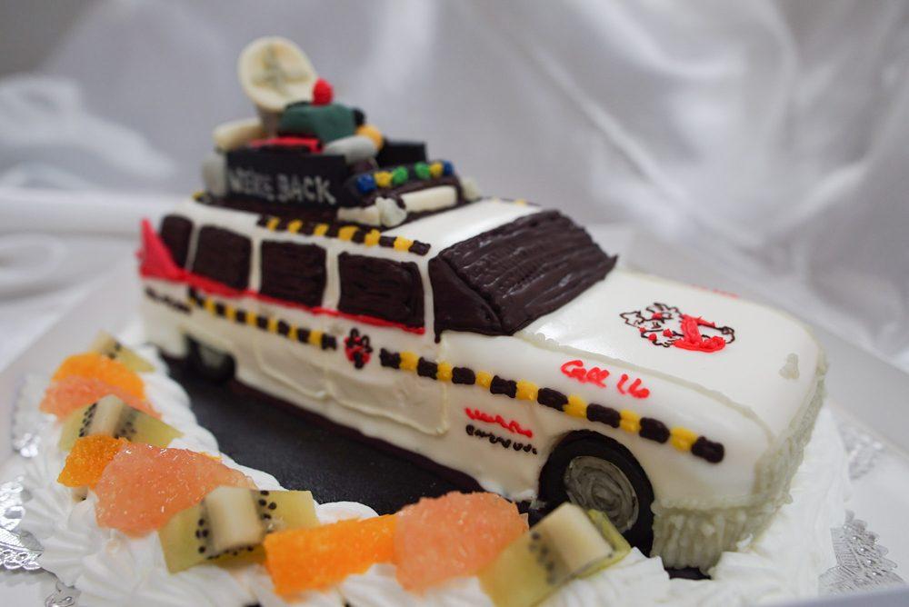 ゴーストバスターズ 車のケーキ完成6
