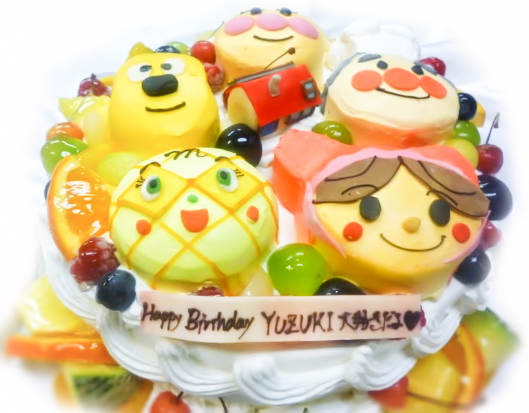 キャラクター3Dケーキ