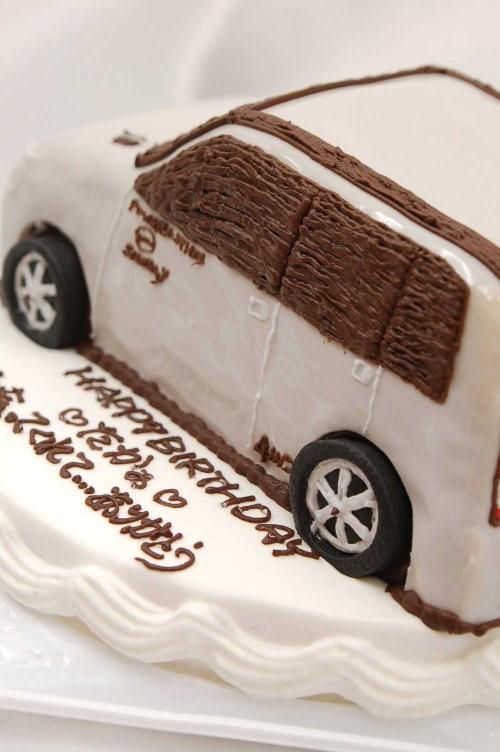 バースデーケーキ立体