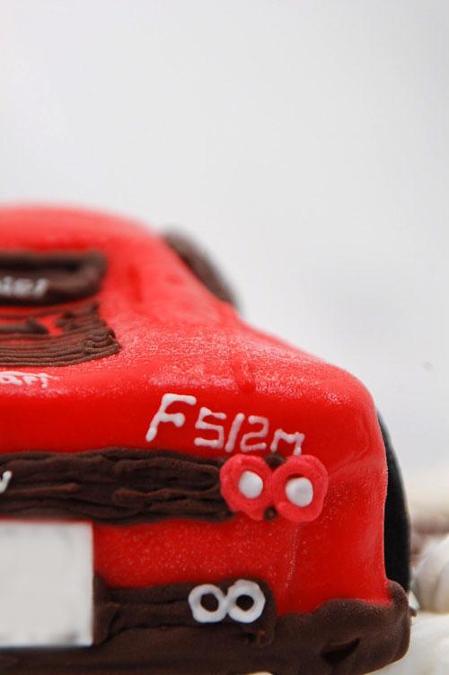 フェラーリF512Mケーキ