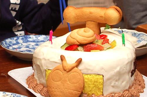 おまるのケーキ