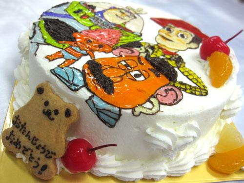 トイストーリーイラストケーキ
