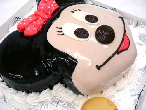 ミニーちゃん誕生日ケーキ