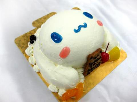 キャラクターケーキ・シナモン