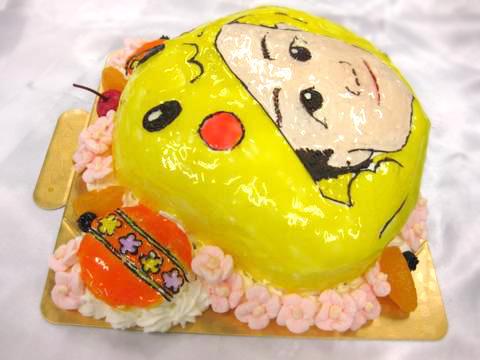 バースデーケーキ 立体