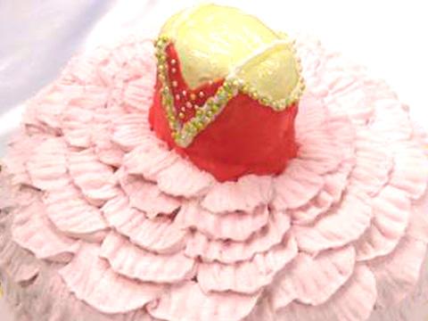 バレエのオーダーメードケーキ