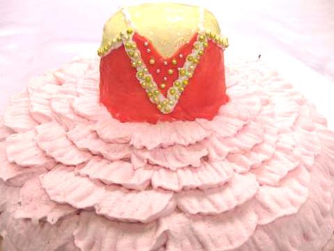 バースデーケーキ バレリーナ