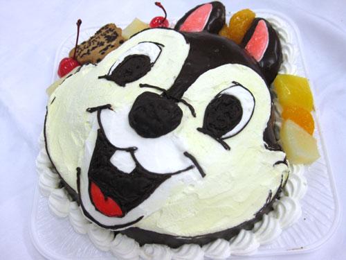 チップのお誕生日ケーキ