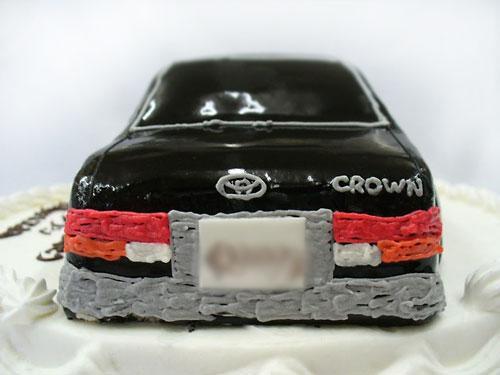 クラウンのケーキ