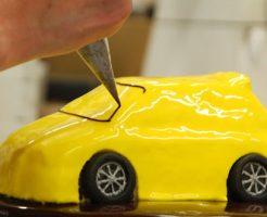 車のケーキの作り方