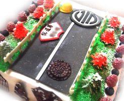 景色風景ジオラマの3Dケーキ
