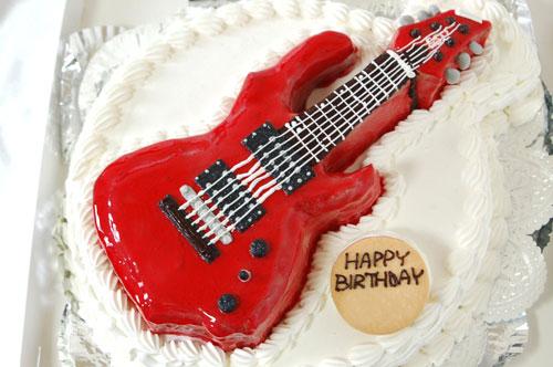 ギター オーダーメイドケーキ