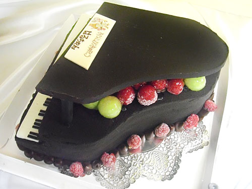 ピアノ ケーキ オーダーメイド