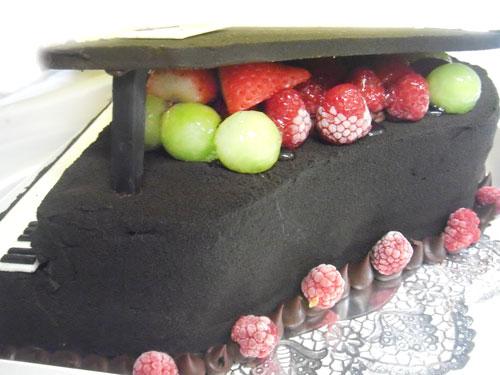 ピアノのケーキ 超立体