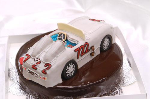 車のケーキ 超立体