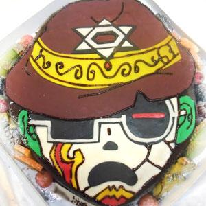 オリジナル キャラクター 立体ケーキ