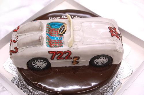 車のケーキ オーダーメイド