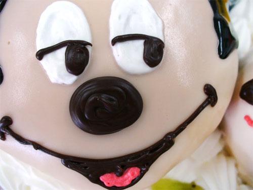 ミッキー 立体ケーキ