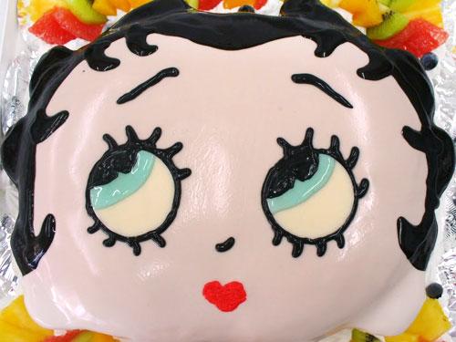 キャラクター ケーキ ベティ