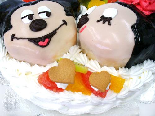 ミッキーマウス キャラクターケーキ