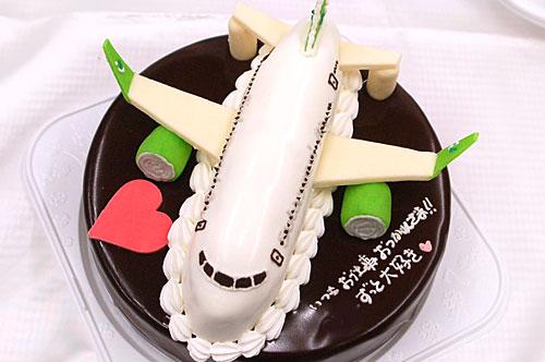 飛行機のケーキ 注文