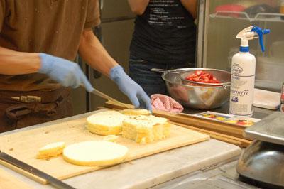 ケーキの作り方