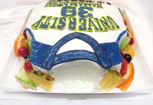 ユニフォームのケーキ 誕生日