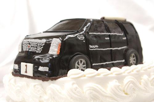 車 超立体ケーキ