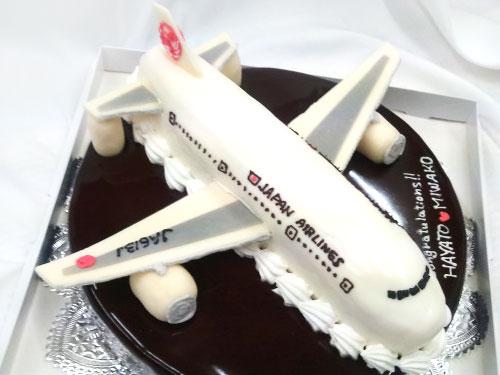 JAL飛行機のケーキ