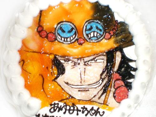 キャラクター似顔絵ケーキ