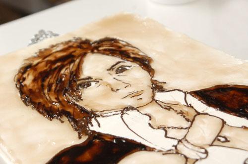 似顔絵ケーキの作品