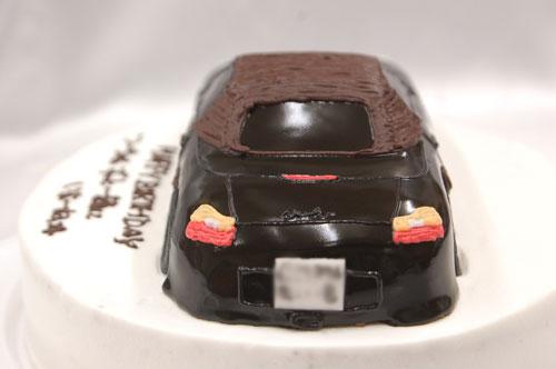 ポルシェ 車のケーキ