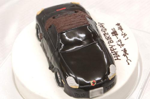 車の超立体ケーキ